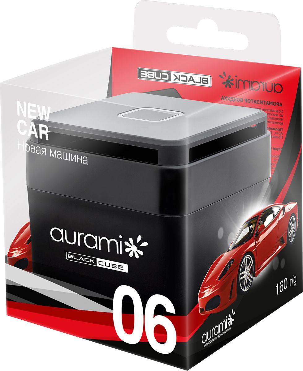 Ароматизатор на приборную панель Aurami Новая машина, BLC-06, гелевый, 100 г ароматизатор гелевый