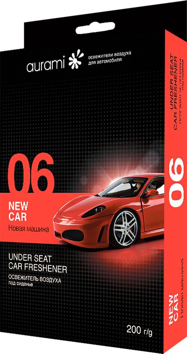 Ароматизатор автомобильный Aurami 06 Новая машина, STD-06, гелевый, 200 г автомобильный ароматизатор doctor wax новая машина dw0807 под сиденье