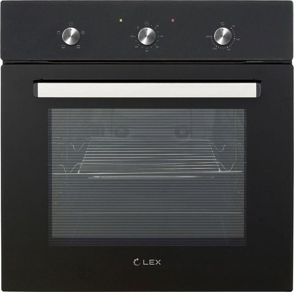 лучшая цена Духовой шкаф Lex EDM 041 BL, черный