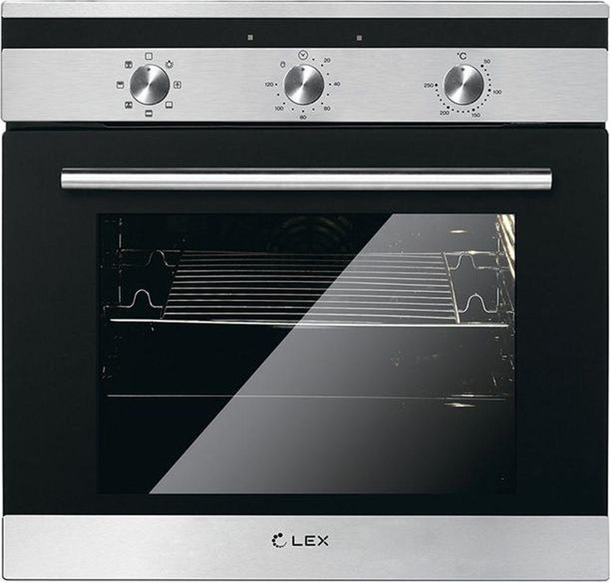 цена на Духовой шкаф Lex EDM 070 BL, стекло черное