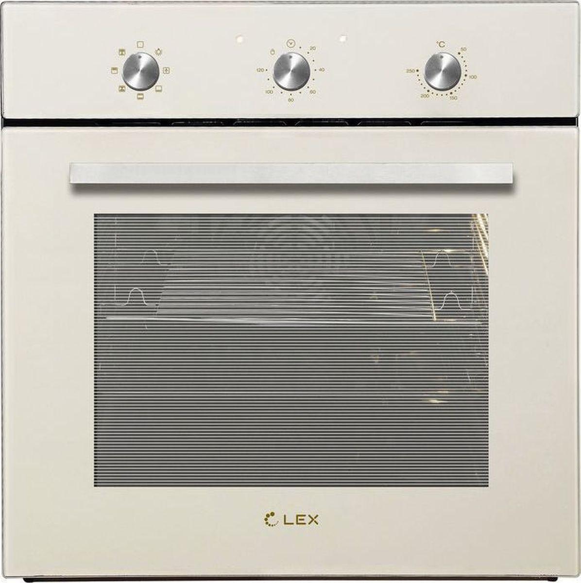 Духовой шкаф Lex EDM 070 IV, слоновая кость