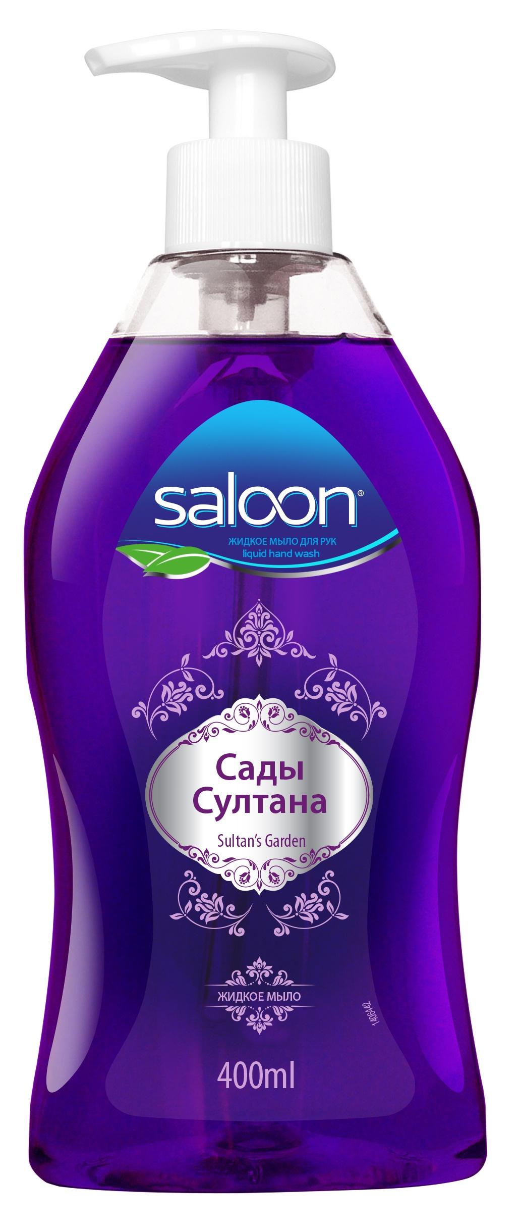 Фото Жидкое мыло Saloon Салун для рук Султан 400 мл