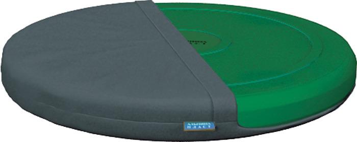 Диск здоровья Альпина Пласт Фитдиск Плюс, балансировочный, с чехлом, 4030011042, зеленый цена