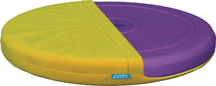 Диск здоровья Альпина Пласт Фитдиск Плюс, балансировочный, с чехлом, 4030011082, фиолетовый альпина пласт аспиратор с твердым наконечником б1 1