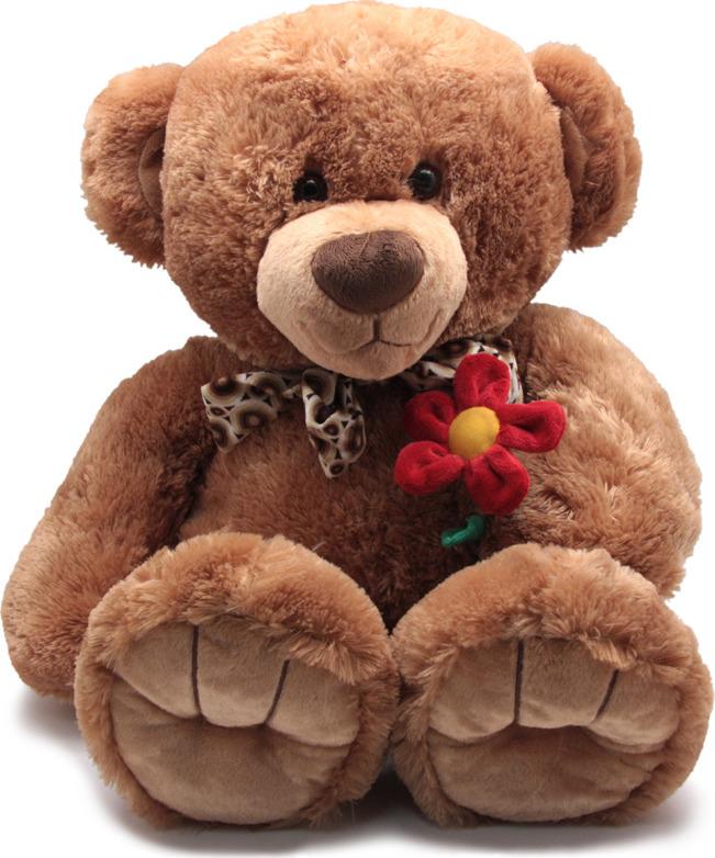 Мягкая игрушка Magic Bear Toys Медведь Берн с цветком, SAL5209B-F, 50 см титаренко н н метапредметная диагностическая работа 4 класс типовые задания