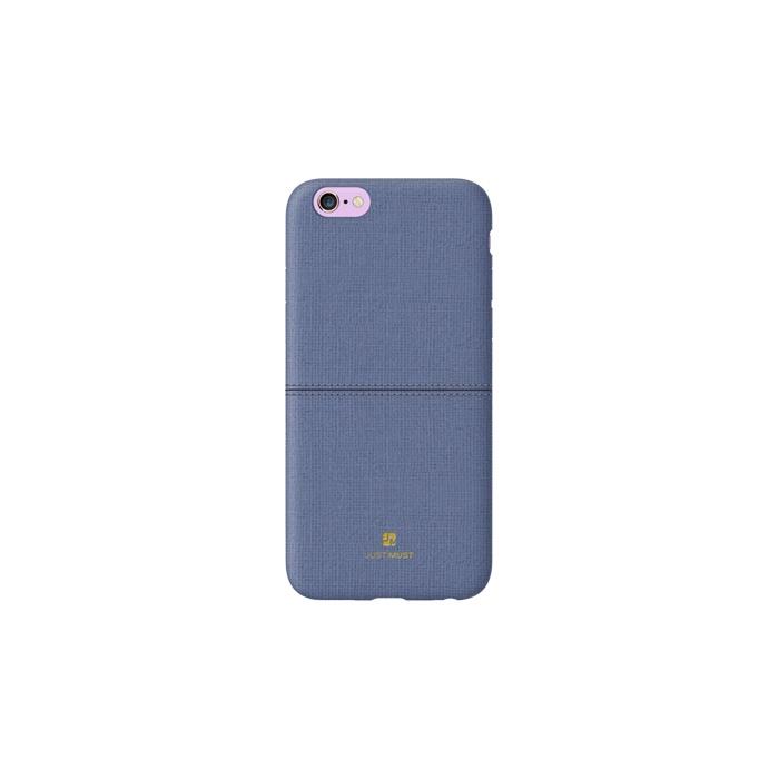 Чехол для телефона Just Must Ratio ll для Apple Iphone 7/8, темно-синий все цены