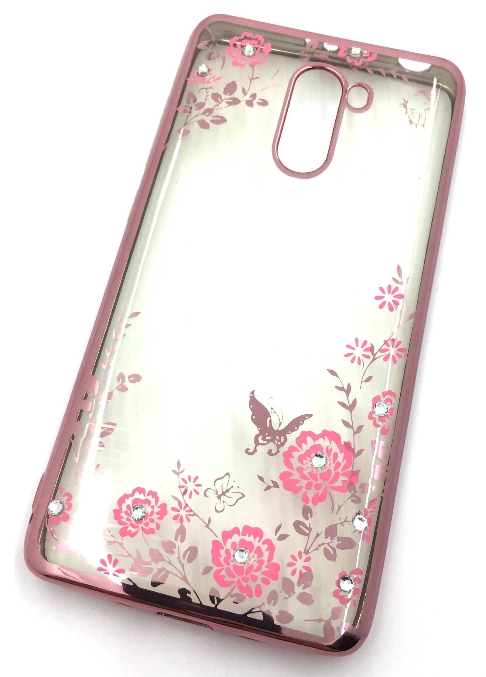 Чехол для сотового телефона Мобильная мода Xiaomi Redmi 4 Pro Силиконовая, прозрачная накладка со стразами, 6 992R, розовый, золотой чехол для сотового телефона мобильная мода meizu pro 6 силиконовая прозрачная накладка со стразами 6371g золотой
