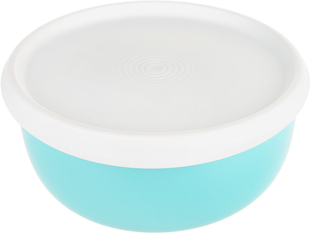 Чаша Tupperware Цветение, цвет: аквамарин, 1,3 л чаша tupperware бриллиант 500 мл