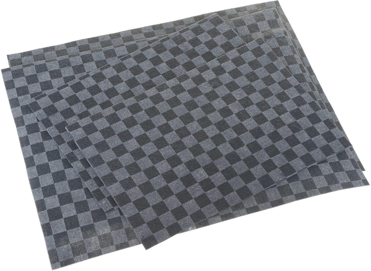 Комплект ковриков в салон автомобиля Airline, влаговпитывающие, цвет: черный, 4 шт комплект ковриков в салон автомобиля autofamily honda jazz 2001 2008 цвет черный