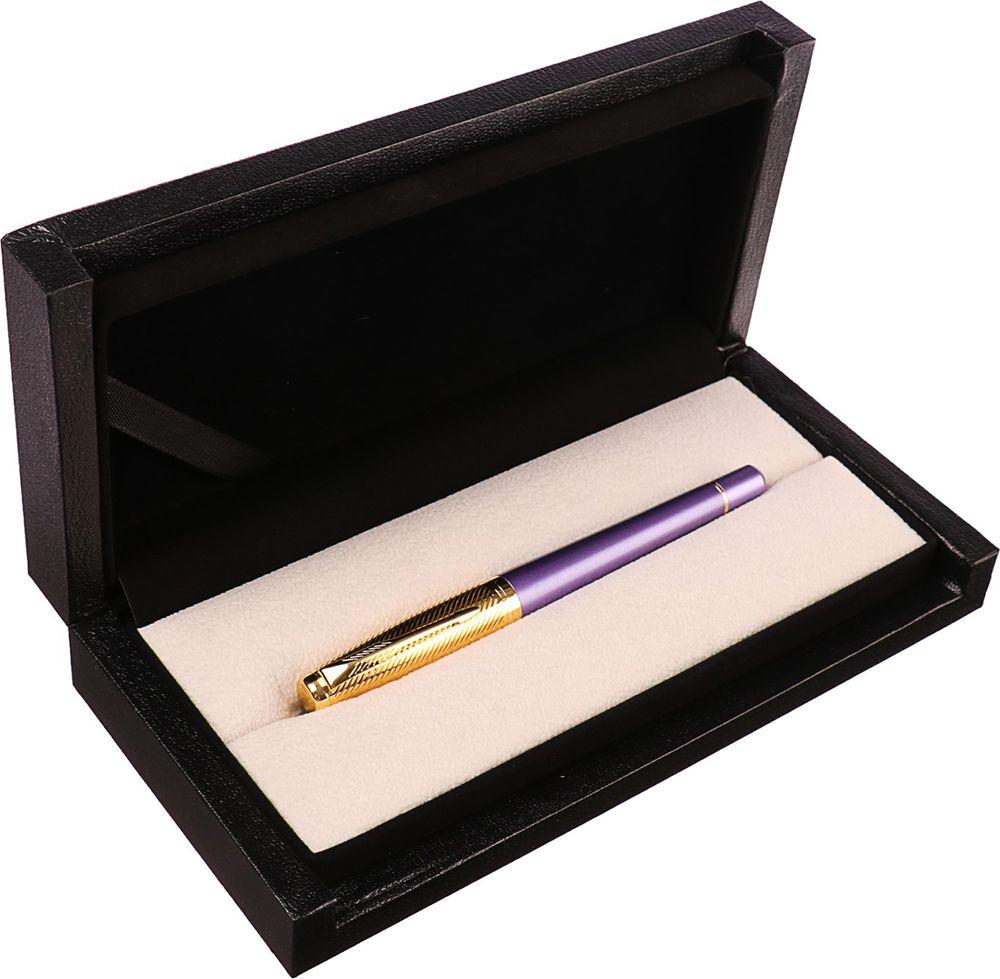 Ручка подарочная перьевая Calligrata  Венесуэла , 3604838, в футляре, корпус фиолетовый