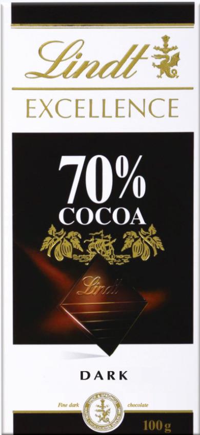 Lindt Excellence горький шоколад, 100 г цена