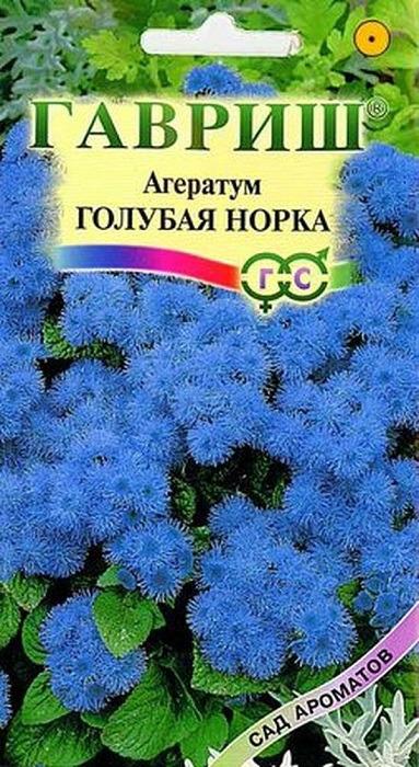 Семена Гавриш Агератум Голубая норка, 00001912, 0,1 г00001912Декоративное растение из семейства Астровые, культивируемое как однолетник, высотой 20-25 см. Цветение обильное с июня до заморозков. Душистые мелкие темно-голубые цветки собраны в плотные пушистые соцветия 5-8 см в диаметре. Достаточно засухоустойчив, светолюбив, но может расти при небольшом затенении, предпочитает легкие, умеренно плодородные почвы. Теплолюбив, заморозков не переносит. Выращивают рассадным способом. Посев проводят в конце марта-начале апреля, всходы появляются через 8-12 дней. Рассаду высаживают в конце мая-начале июня, после окончания весенних заморозков. Используют для посадки на клумбах, в рабатках, миксбордерах, а также в балконные ящики.Вес: 0,1 г. Рекомендуем!
