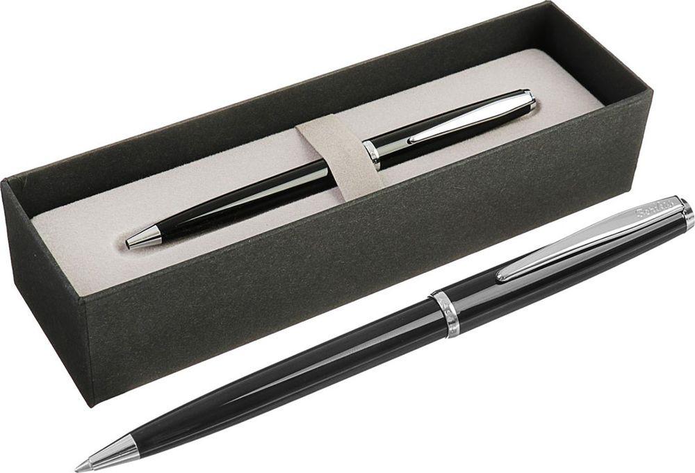 Ручка подарочная шариковая Scrikss Vintage 52, 3794798, в футляре, корпус черный3794798Правильно подобранный бизнес-подарок - залог вашей деловой репутации. Благодаря качественному сувениру, можно наладить длительные и выгодные партнерские отношения.