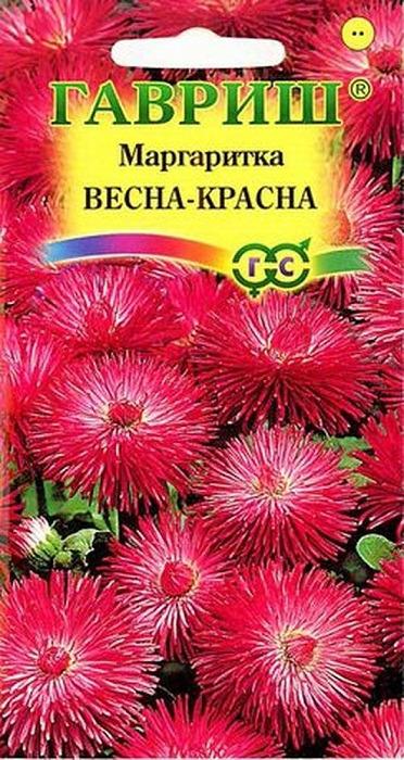 """Семена Гавриш """"Маргаритка Весна-Красна"""", 005183, 0,05 г"""