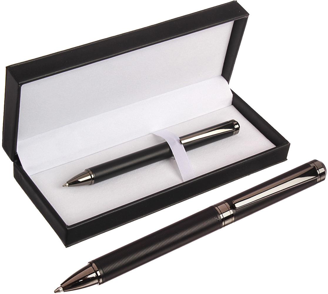 Ручка подарочная шариковая Calligrata NEW, 3604787, в футляре, поворотная, корпус черный3604787Правильно подобранный бизнес-подарок - залог вашей деловой репутации. Благодаря качественному сувениру, можно наладить длительные и выгодные партнерские отношения.