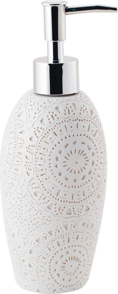 Диспенсер для мыла Swensa Imola, SWT-4800A, белый бордюр imola anthea b 2w 2x30