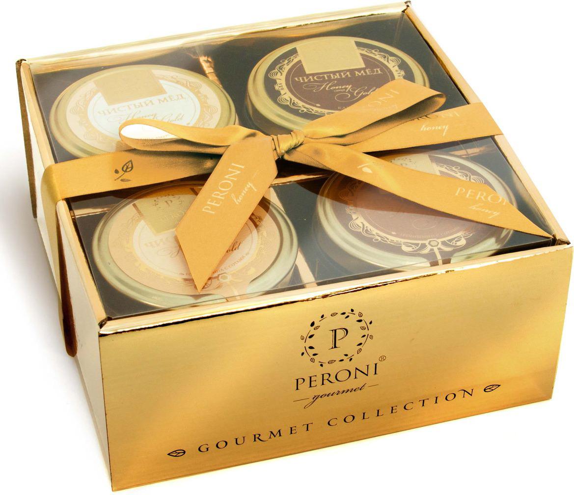 Фото - Набор мед Peroni Honey Gold №4, 4 шт по 290 г блок питания accord atx 1000w gold acc 1000w 80g 80 gold 24 8 4 4pin apfc 140mm fan 7xsata rtl