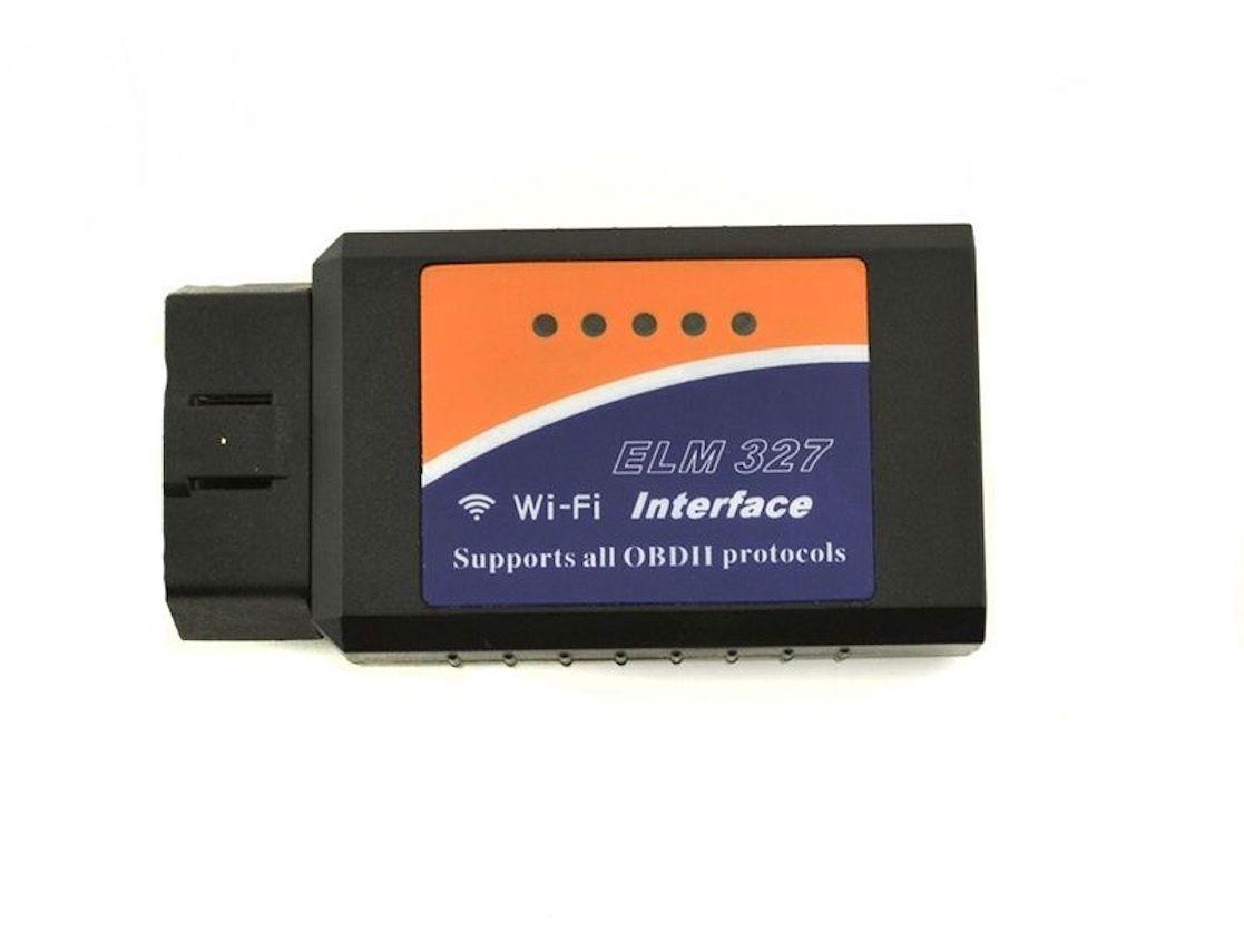 Тестер автомобильный Quantoom ELM327 Wi-Fi Mini OBDII адаптер ver. 1.5