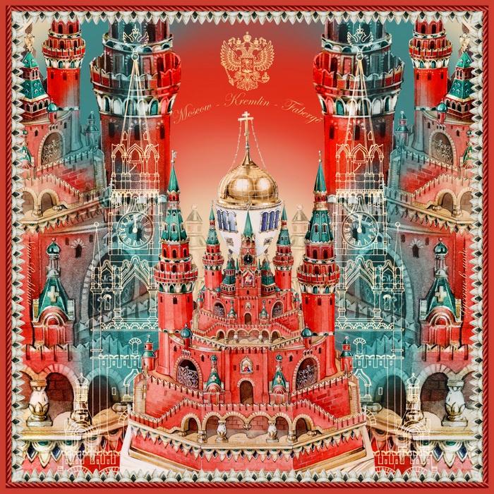 Платок Русские в моде