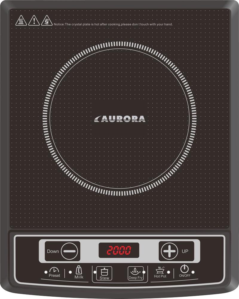 Настольная плита AURORA AU 4472, черный