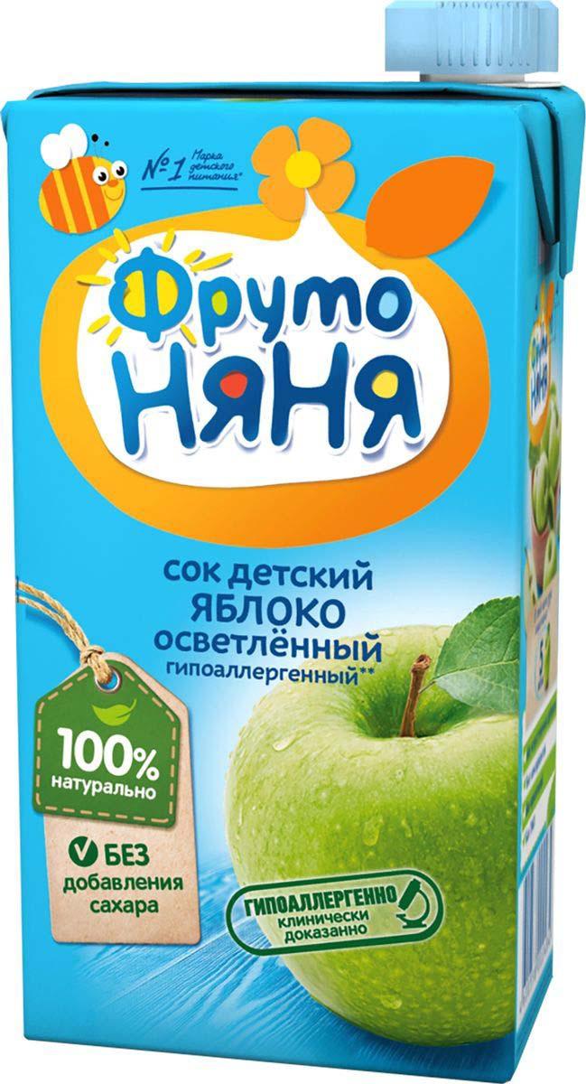 Фото - ФрутоНяня сок из яблок, 0,5 л фрутоняня сок из яблок 0 5 л