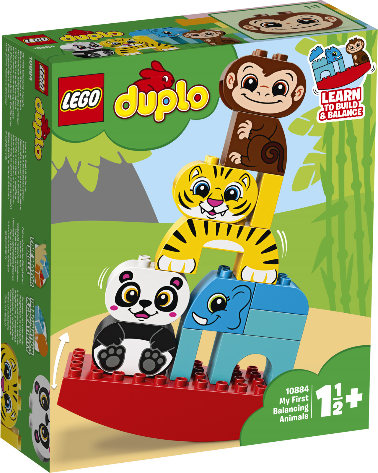 LEGO DUPLO My First 10884 Мои первые цирковые животные Конструктор lego duplo 10884 лего дупло мои первые цирковые животные