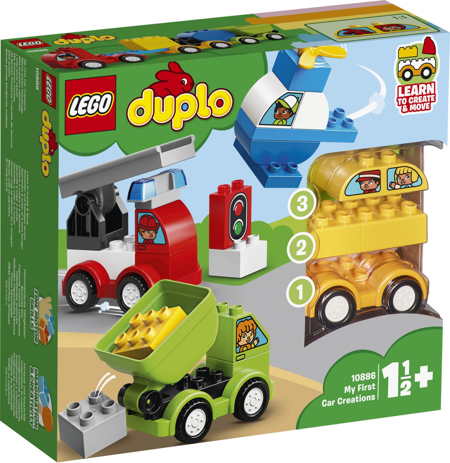 LEGO DUPLO My First 10886 Мои первые машинки Конструктор lego lego duplo my first мои первые эмоции
