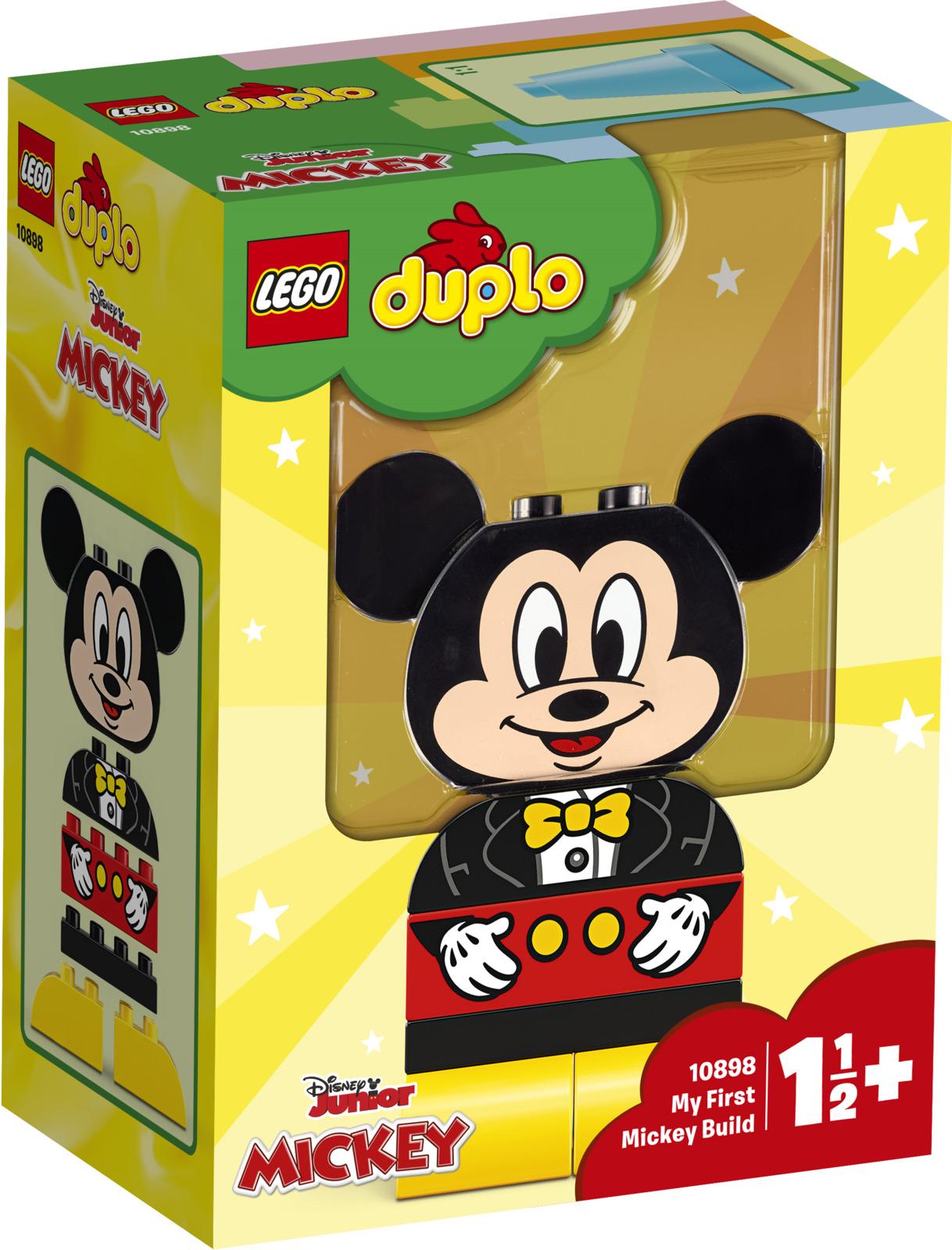 Фото - LEGO DUPLO Disney 10898 Мой первый Микки Конструктор lego duplo disney катер микки 10881