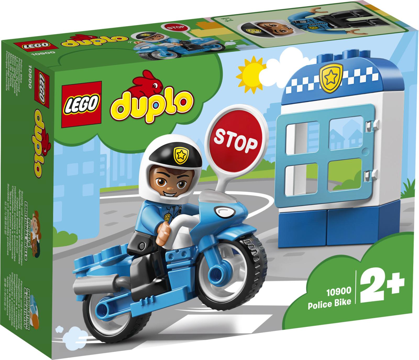 LEGO DUPLO Town 10900 Полицейский мотоцикл Конструктор