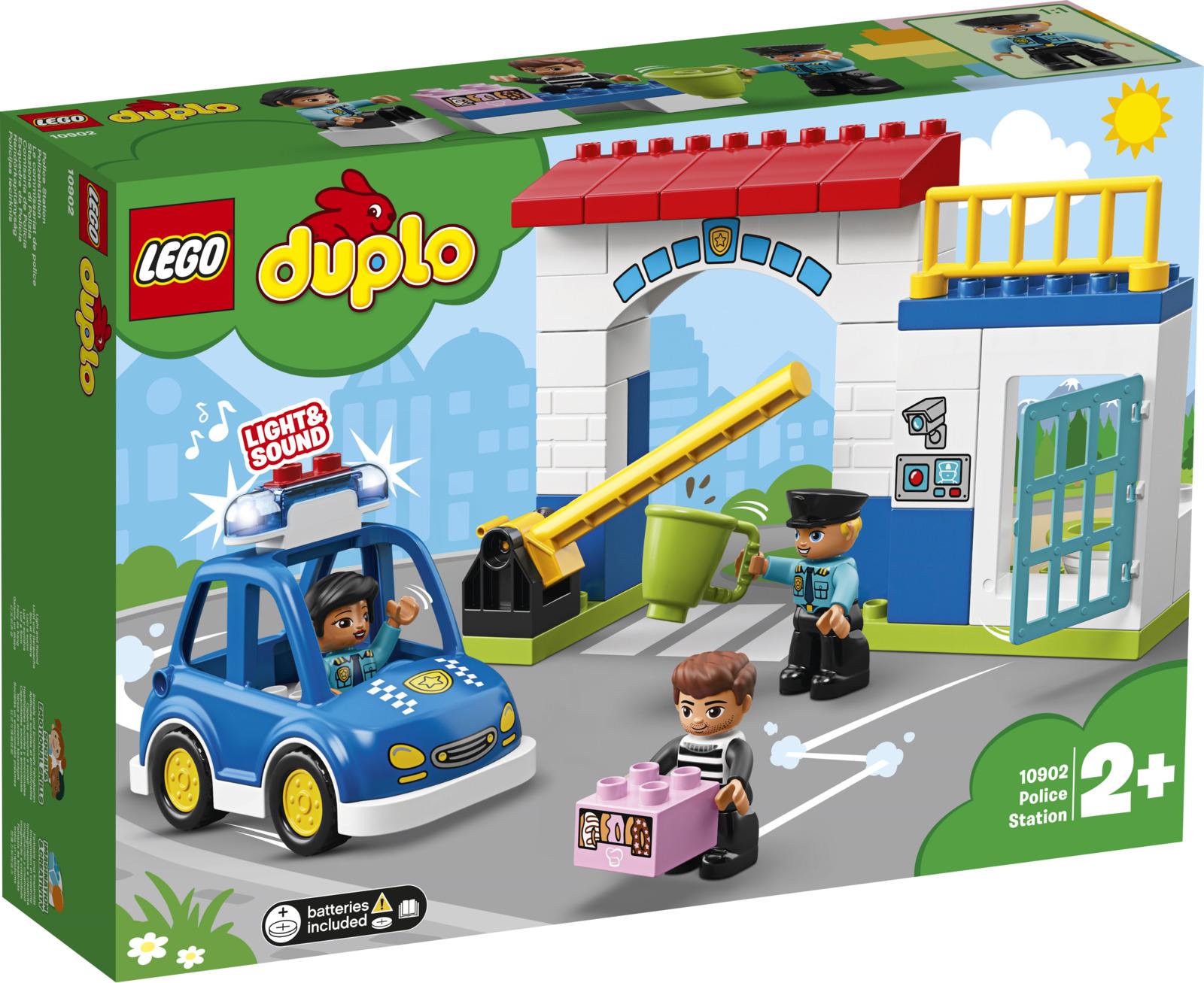 LEGO DUPLO Town 10902 Полицейский участок Конструктор lego education preschool 45011 люди мира duplo