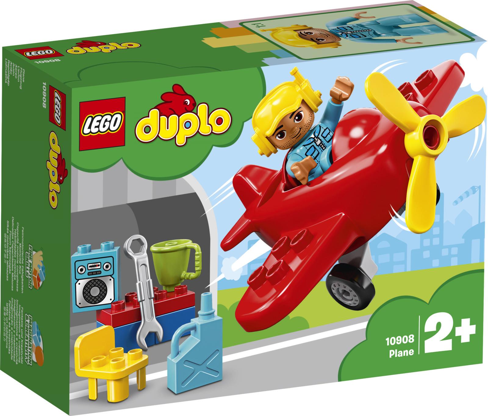 LEGO DUPLO Town 10908 Самолет Конструктор конструкторы lego lego игрушка нексо безумная колесница укротителя модель 70314