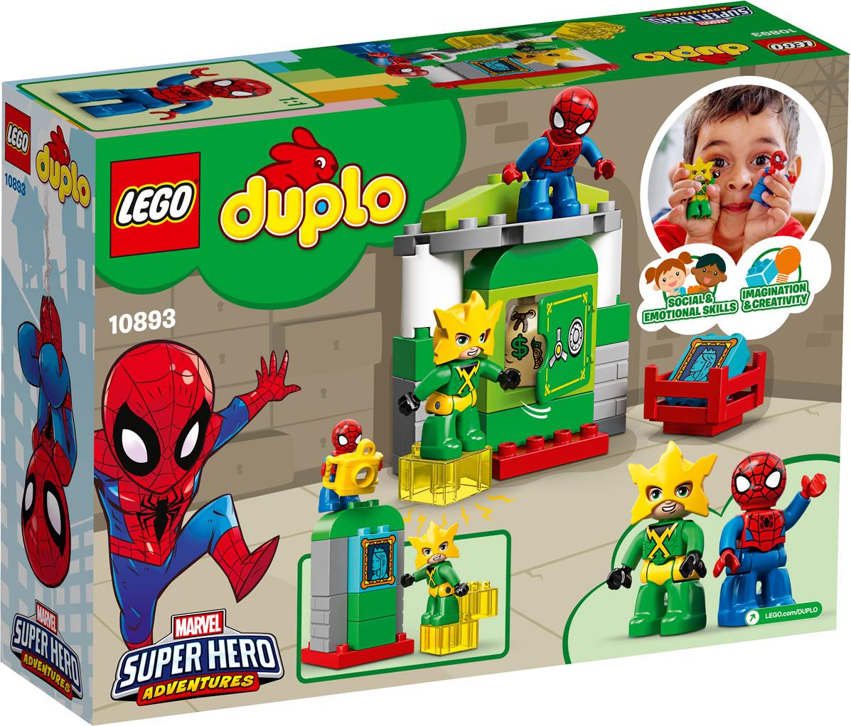 LEGO DUPLO Super Heroes 10893 Человек-Паук против Электро Конструктор