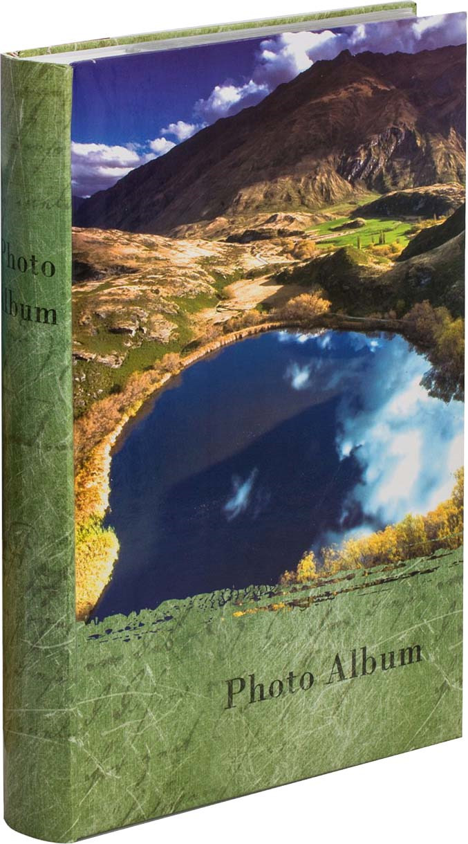 Фотоальбом Platinum Озера, на 300 фото, светло-зеленый фотоальбом platinum ландшафт 1 на 100 фото pp 46100s 12226 1