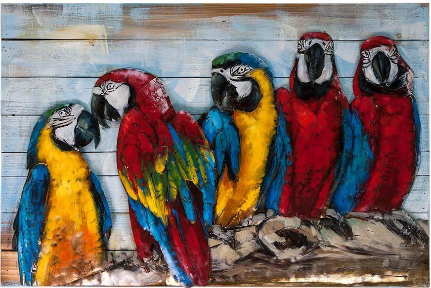 Картина Miralight Попугаи, L18B44, 90 х 60 см картина everything
