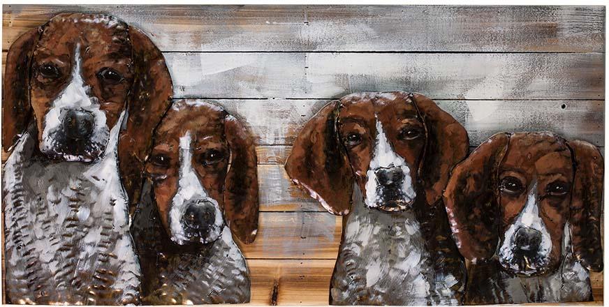 Картина Miralight Собаки, L18B28, 100 х 50 см