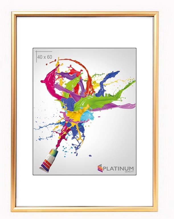 Фоторамка Platinum Poster, золотистый, 40 х 60 см цены