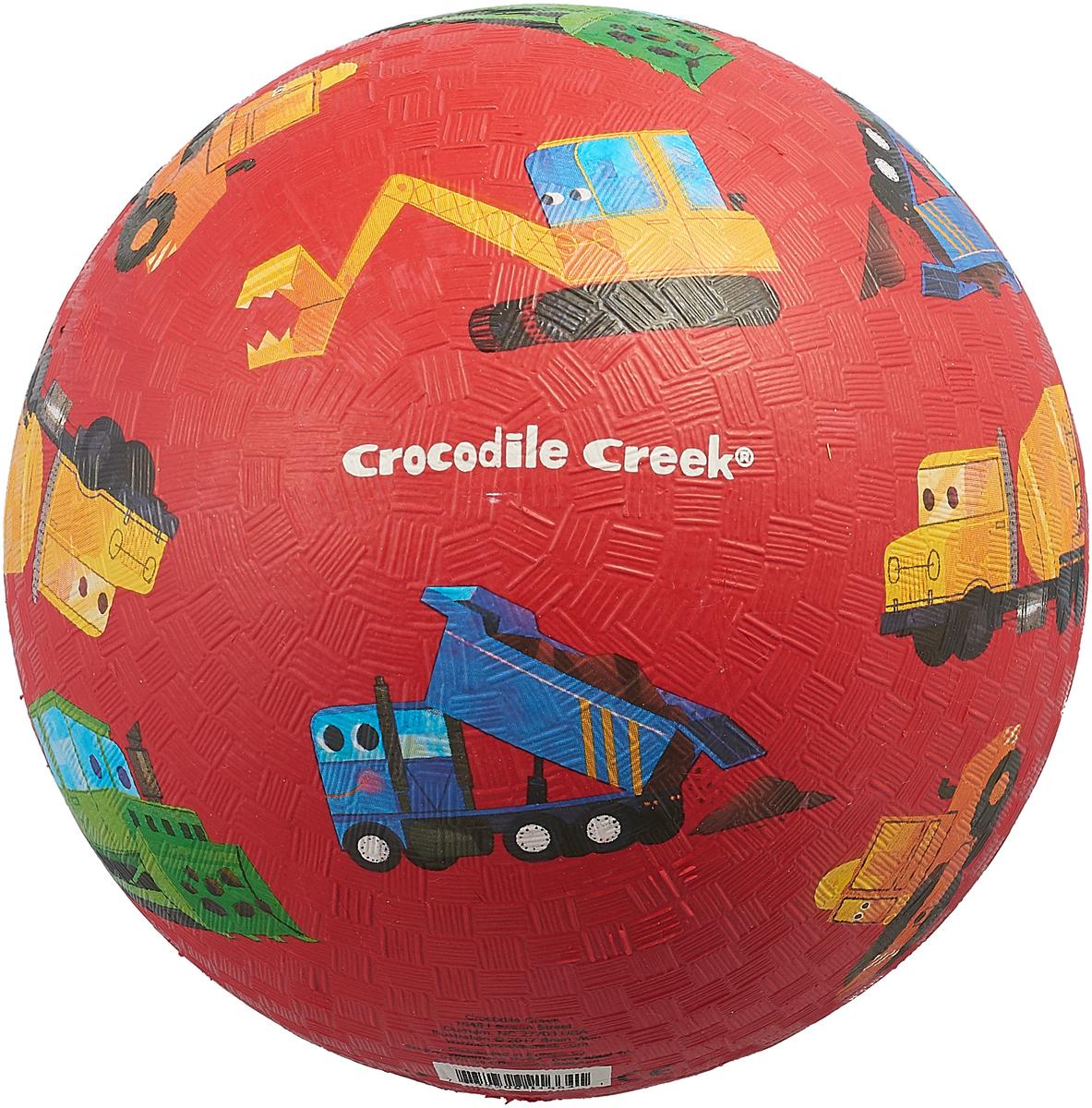 Мяч детский Crocodile Creek Маленький строитель. 2166-4 хаха мяч rocking horse детский открытый фитнес игрушки музыкальные красочные надувные прыжки маккавеев толстый маленький лошадь