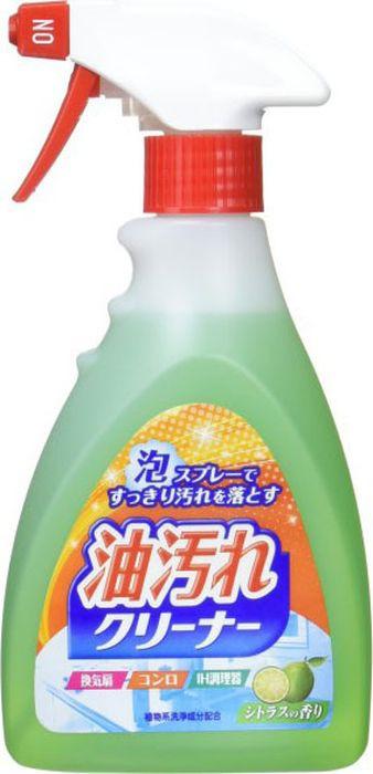 Спрей-пена для кухни Nihon Detergent, 828346, удаления масляных загрязнений, 400 мл
