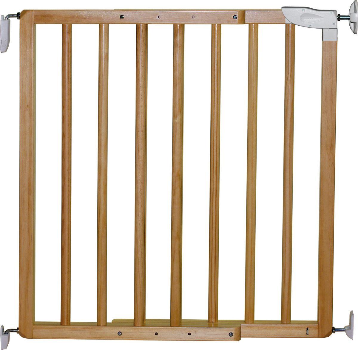 Ворота безопасности Nordlinger Olympos, 742002, натуральное дерево, 70-106 см ворота безопасности для детей на лестницу в леруа мерлен