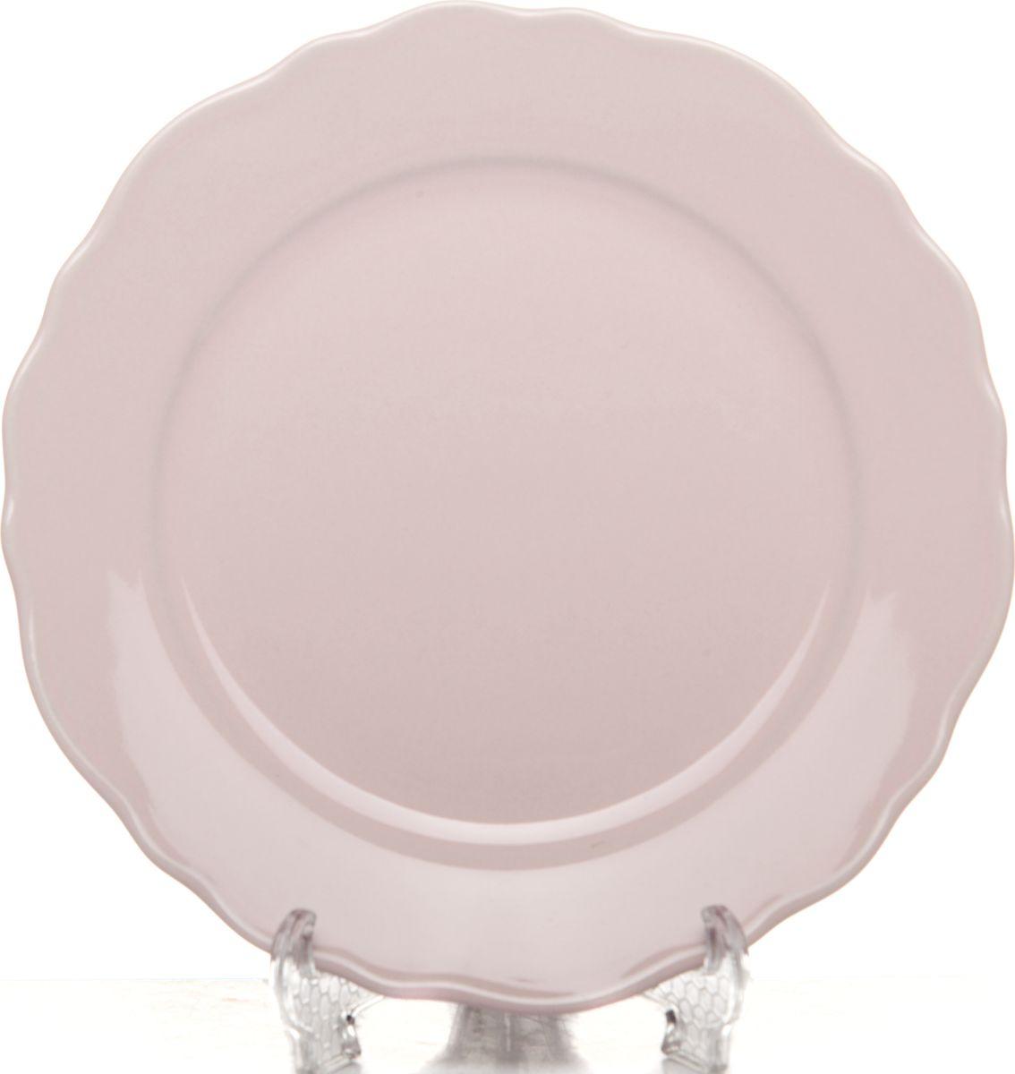 Тарелка Kutahya Porselen Lar, LR19TD142 616, розовый, диаметр 19 смLR19TD142 616Тарелка Kutahya Porselen Lar выполнена из высококачественного материала. Хорошая хозяйка всегда будет рада такому презенту, а сервированный такой посудой стол будет выглядеть нарядным. Рекомендуем!