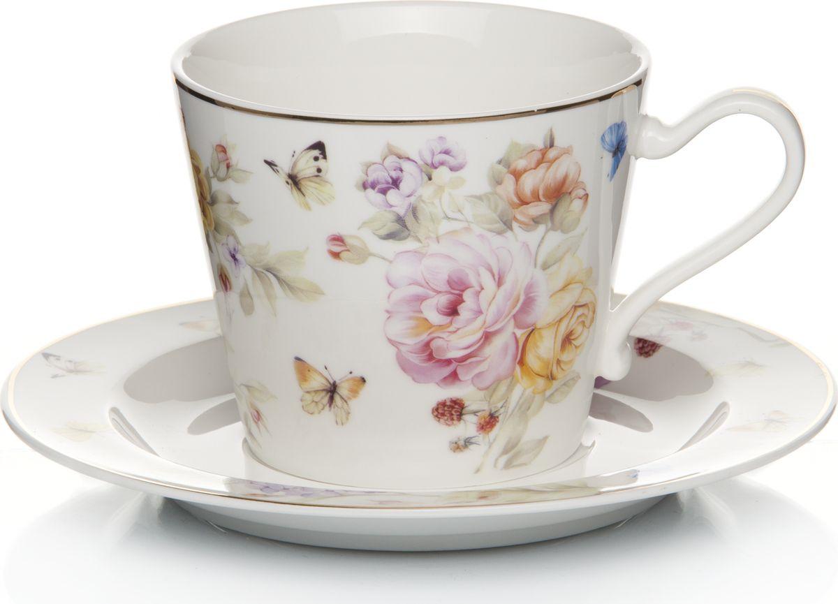 Набор чайный, на 2 персоны, LQ-QC0578-C0599-H558, мультиколор, 4 предметаLQ-QC0578-C0599-H558Чайный набор в подарочной упаковке на 2 персоны 250 мл, 4 пр.