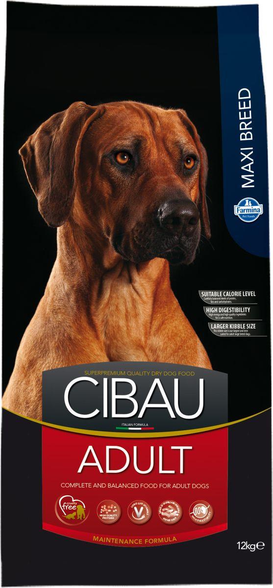 Корм сухой Farmina Cibau, для собак крупных пород, с курицей, 12 кг