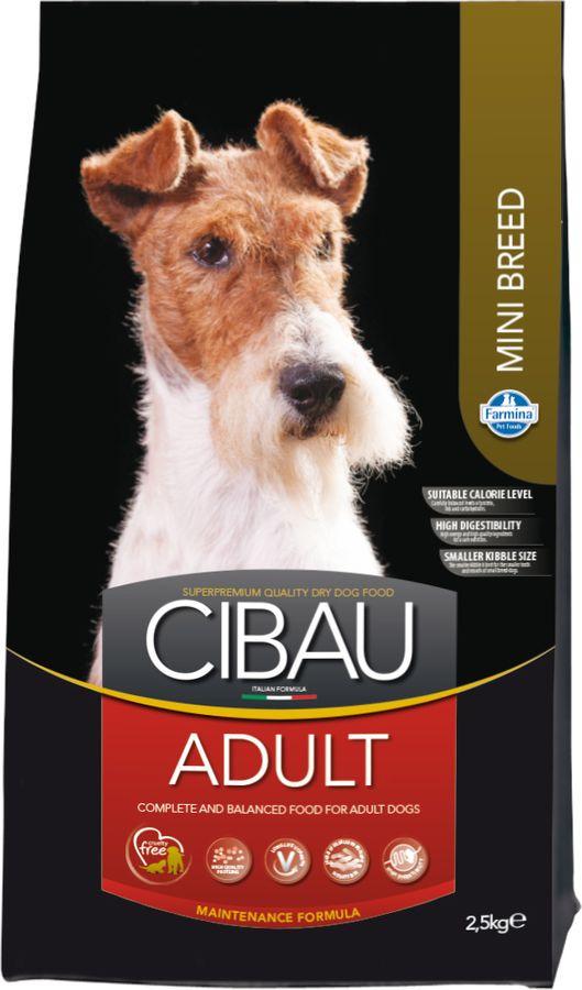 Корм сухой Farmina Cibau, для собак мелких пород, с курицей, 2,5 кг