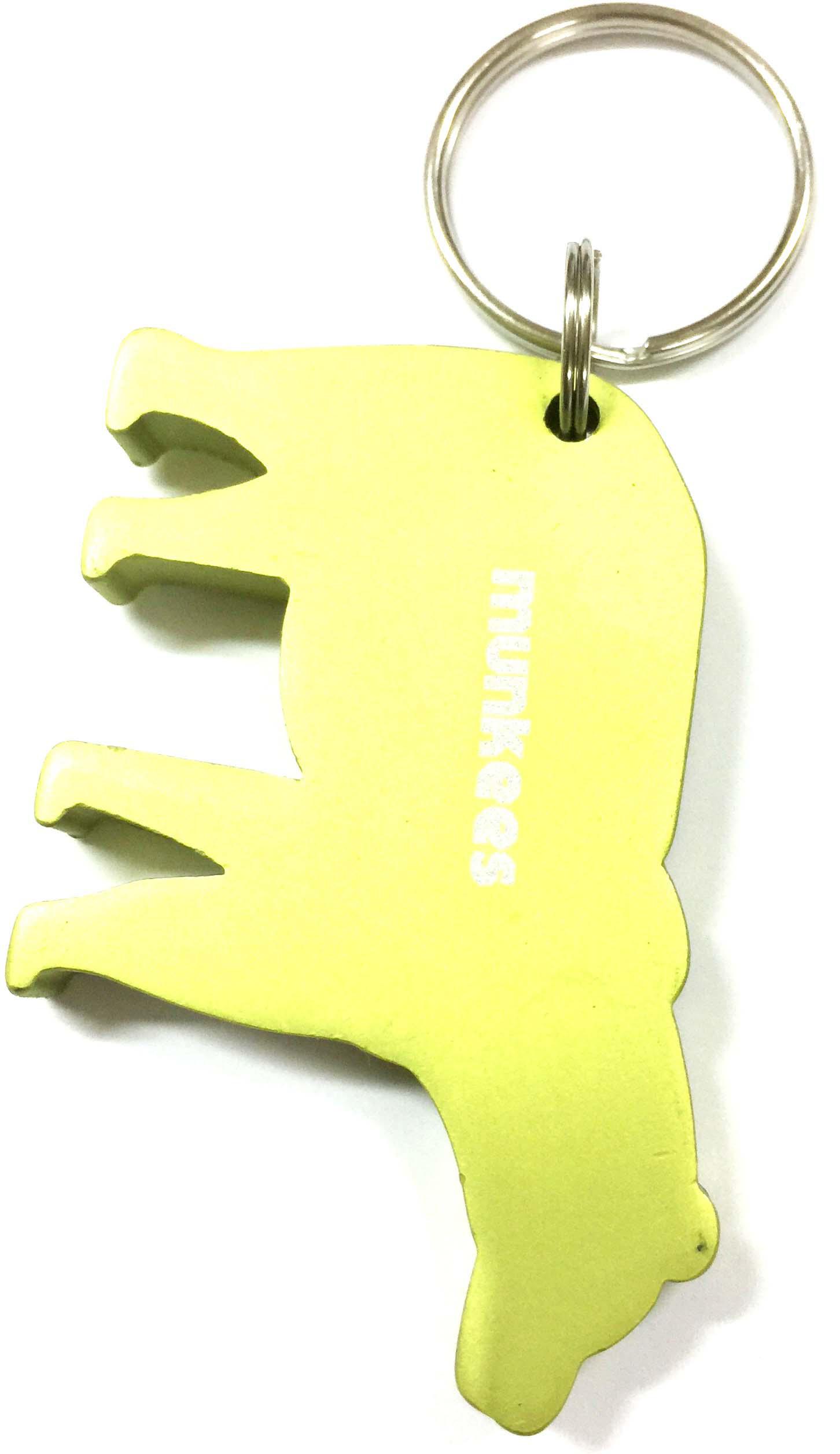 Брелок-открывалка Munkees Медведь, цвет: желтый брелок открывалка munkees стандартная цвет желтый