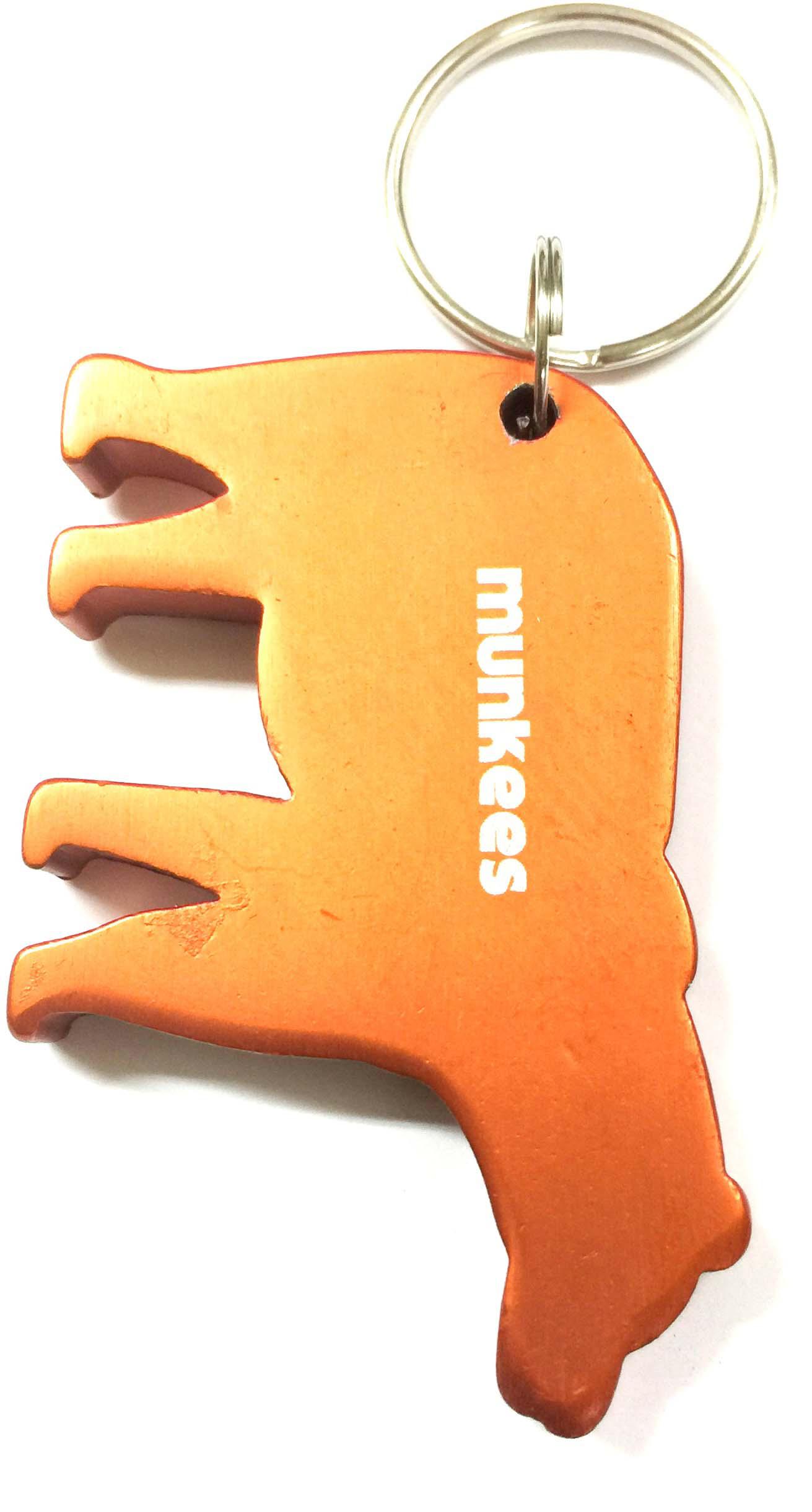 Брелок-открывалка Munkees Медведь, цвет: оранжевый брелок открывалка munkees стандартная цвет желтый