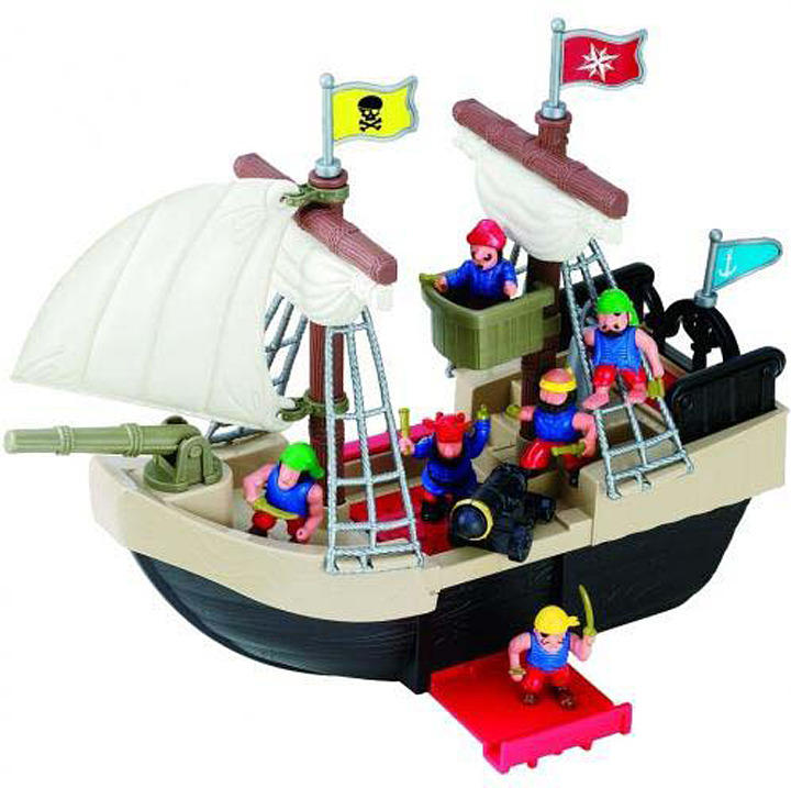 Игровой набор Red Box Пиратский корабль, 24259-2 egmont toys магнитная игра пиратский корабль egmont toys