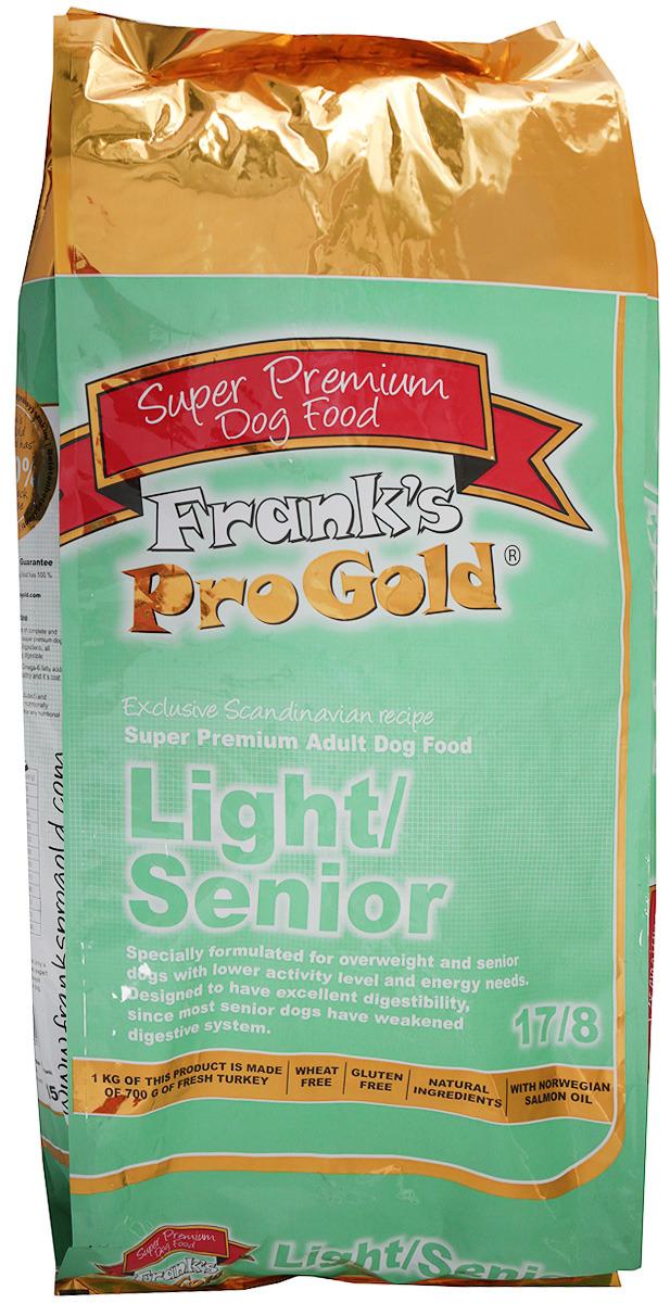 """Корм сухой Frank's ProGold """"Контроль веса"""" для собак, с индейкой и курицей, 15 кг"""