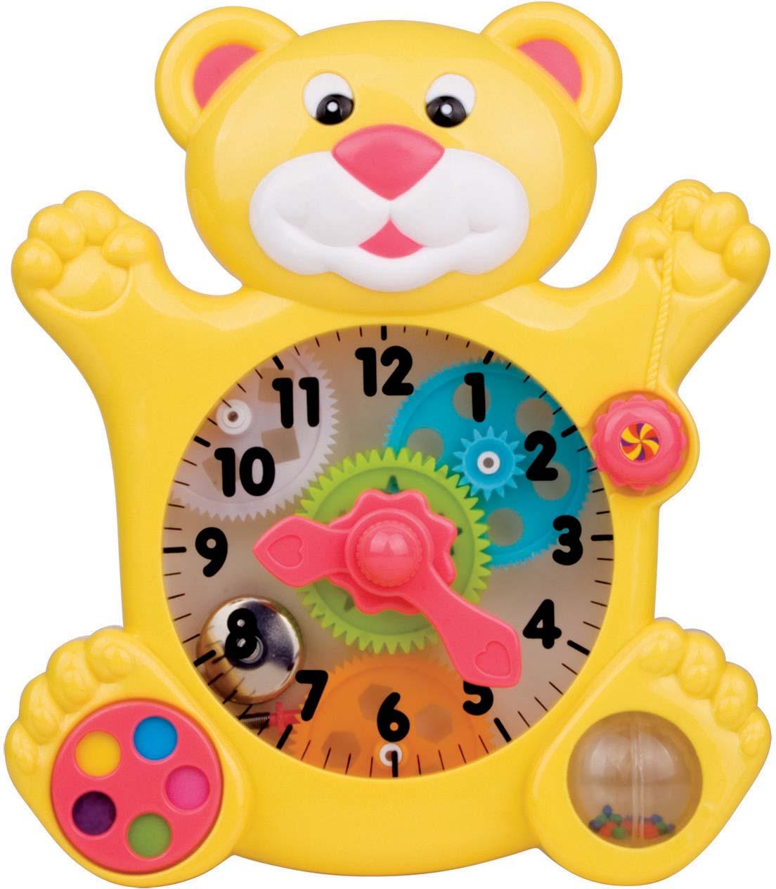 """Развивающая игрушка Red Box """"Медвежонок-часы"""""""
