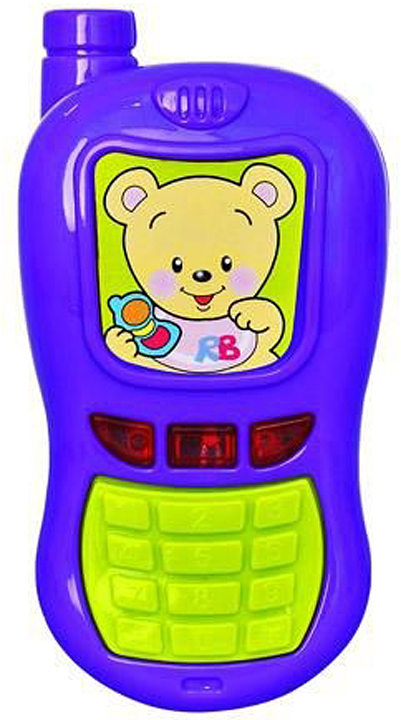 Игрушка музыкальная Red Box Телефон мобильный, 25132 toptoys игрушечный мобильный телефон цвет желтый
