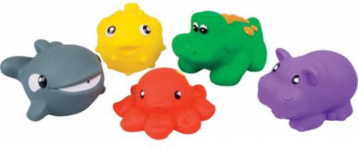 Игрушка для ванной Red Box, 28195, 5 шт test alligator clips crocodile clamp red black size l 5 pairs